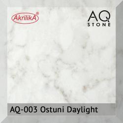 Кварцевый камень Akrilika AQ Stone, цвет AQ-003 Ostuni Daylight